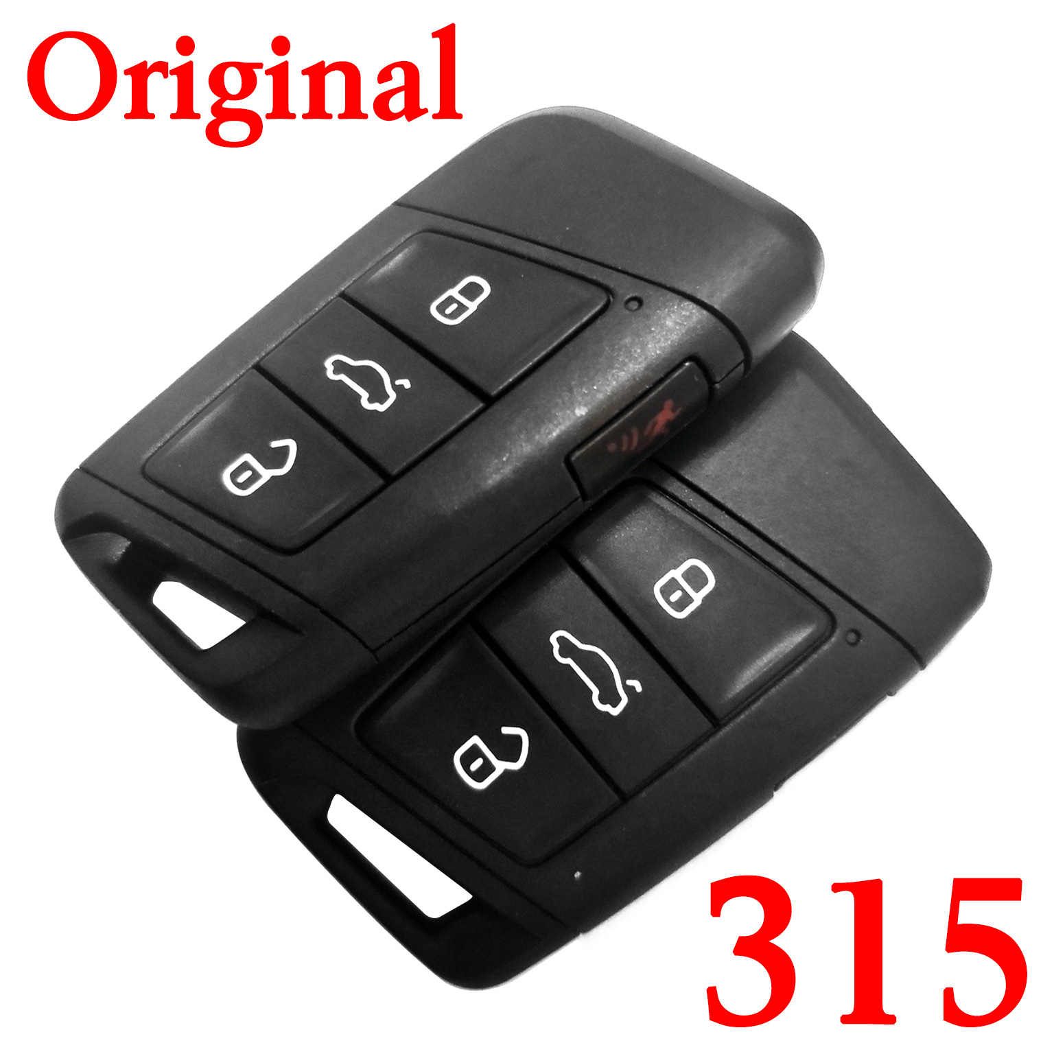 Original 3+1 Buttons 315 MHz MQB Flip Remote Key for VW with  keyless go Functions