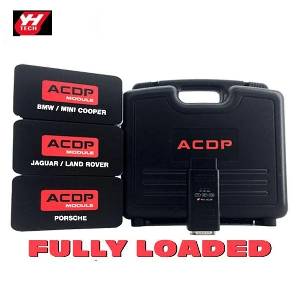 Mini ACDP Key Programmer for BMW, Porsche, Land Rover, Range Rover & Jaguar - FULLY LOADED
