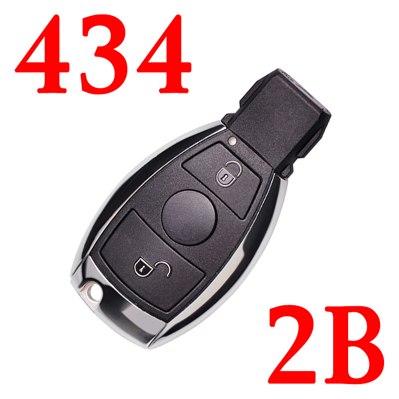 434 MHz 2 Buttons BE Remote Key for Mercedes Benz