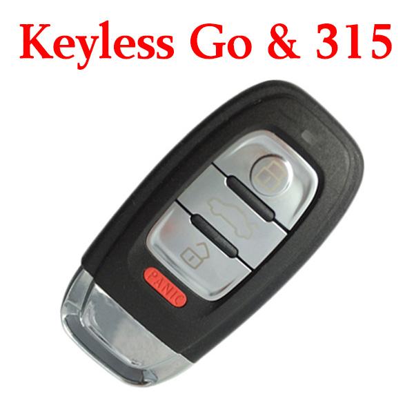 Original 315 MHz Smart Proximity Key for Audi A6L A4L Q5 S5 S6 S7 S8 RS5 A7 A8L