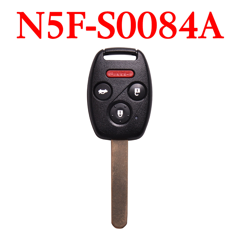 3+1 Buttons 313.8 MHz Remote Key for Honda Civic / Acura 2006-2013 - N5F-S0084A