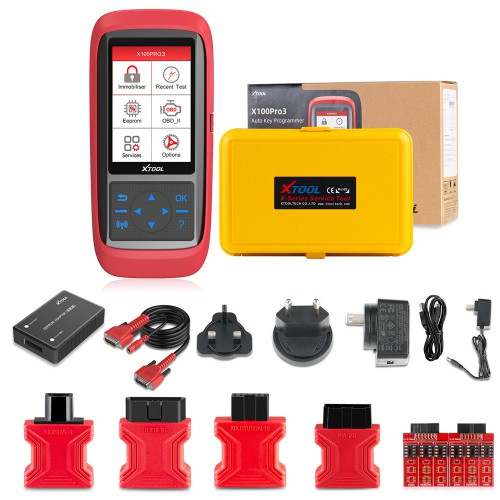 XTOOL X100 Pro3 Professional Auto Key Programmer Add EPB, ABS, TPS Reset Functions Free Update Lifetime