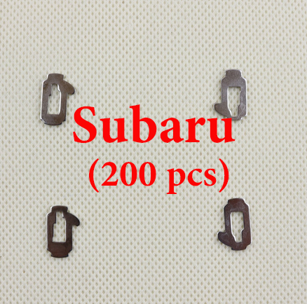 Subaru Car Lock Reed Locking Plate  Subaru Locking Tabs ( 200 pcs)