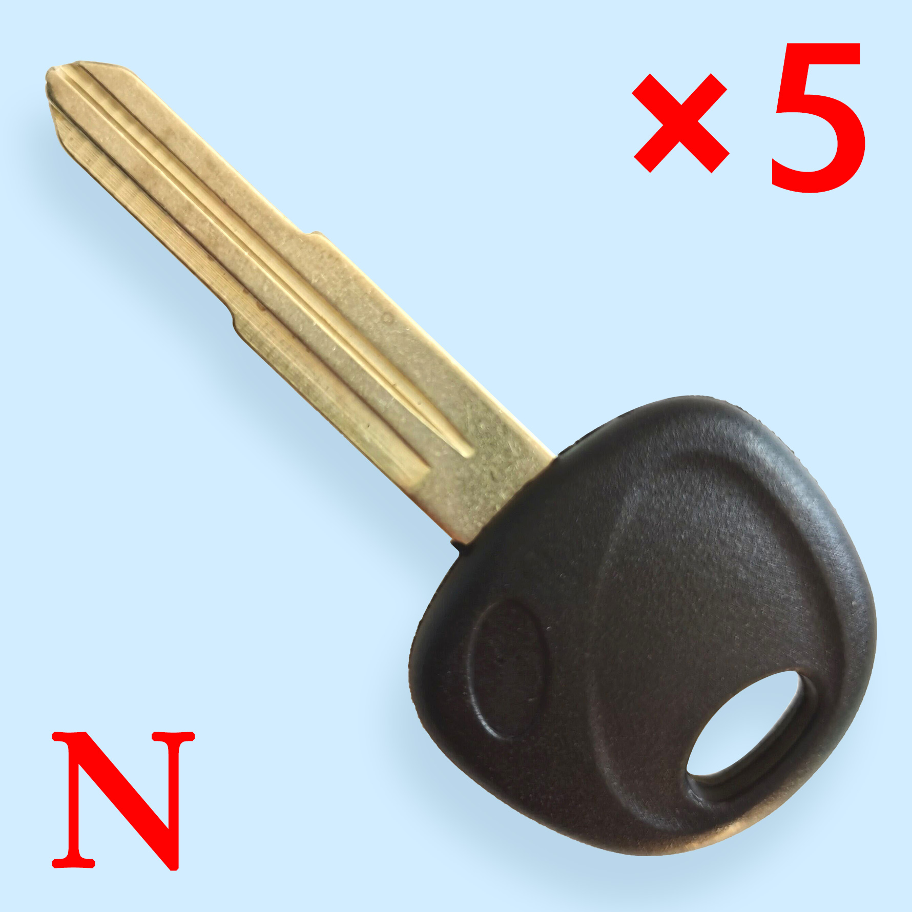 81996-29000 Blank Key Shell for Hyundai Accent - Pack of 5