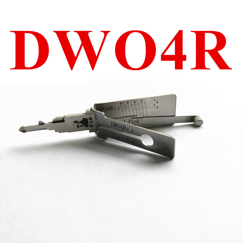 Original LISHI DWO4R V.2 Auto Pick and Decoder for Buick LOVA Excelle GL8 Chevy