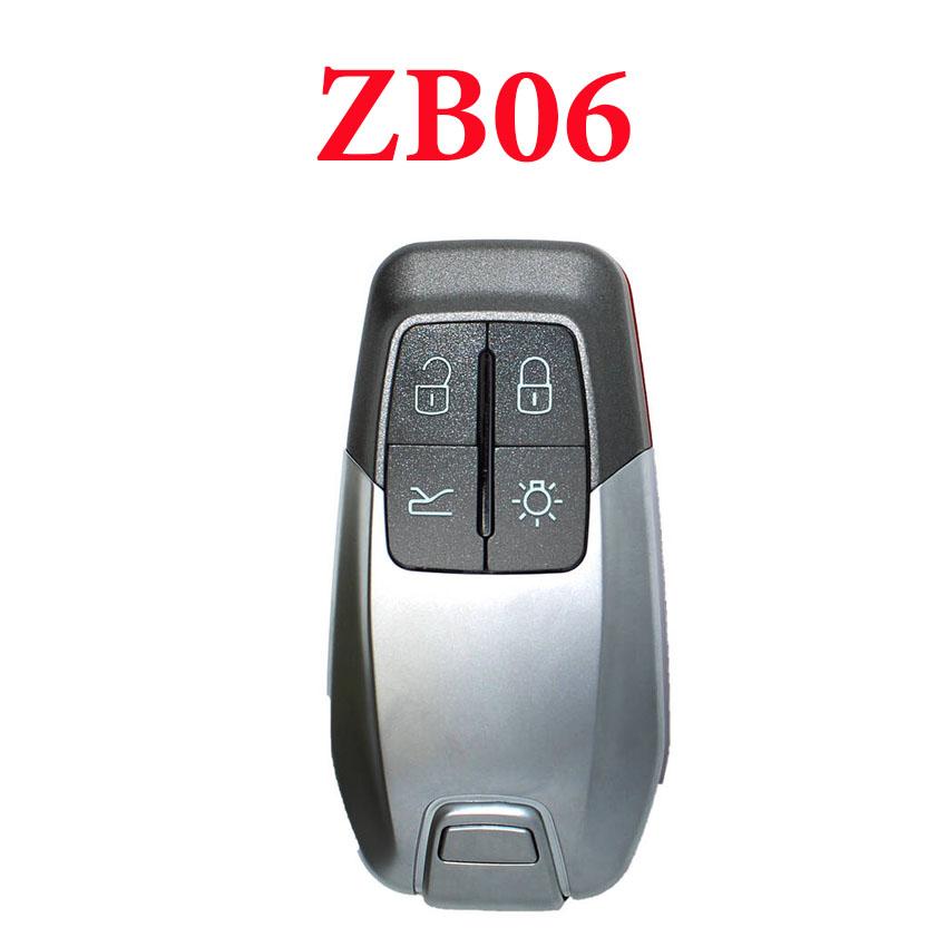 KEYDIY ZB06-4 Smart key Universal Remote control - 5 pcs