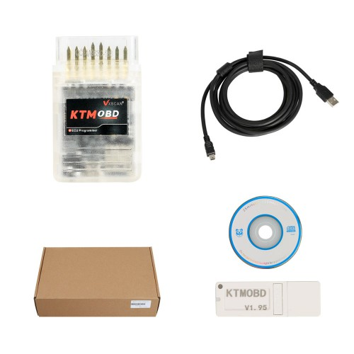 KTMOBD 1.95 ECU programmer & Gearbox Power Upgrade Tool Plug and Play via OBD