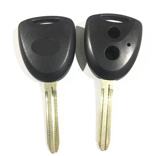 2 Buttons Car Remote Key Case Shell with TOY43 key blade For DAIHATSU -5 pcs