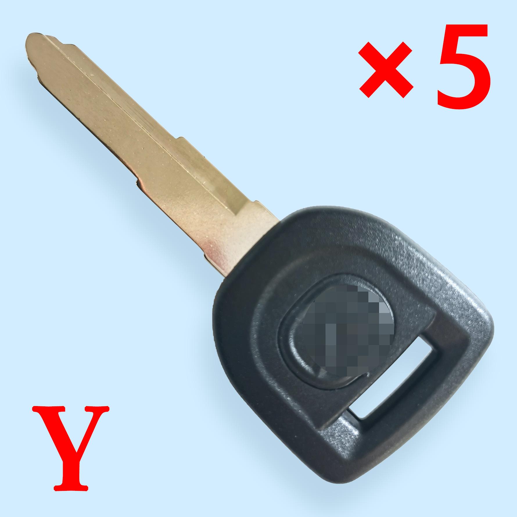 MAZ24R Transponder Key Shell for Mazda - Pack of 5
