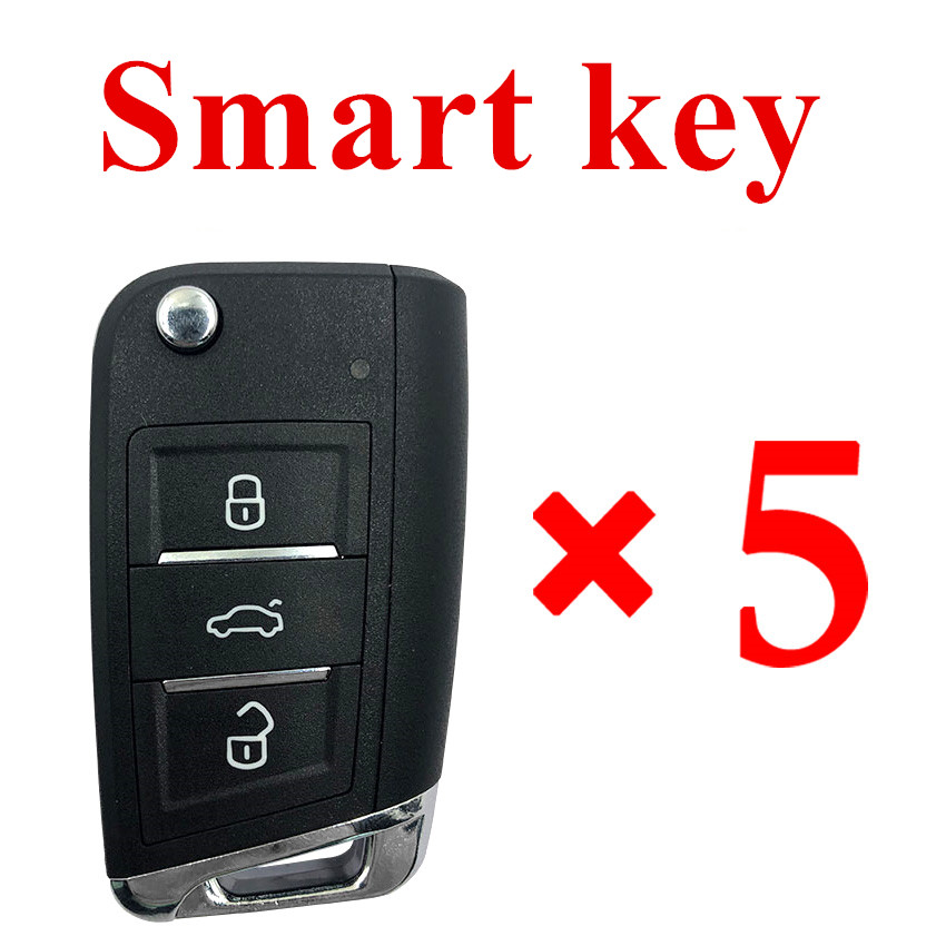 Xhorse VVDI Universal Smart Key with Proximity Function - 5pcs