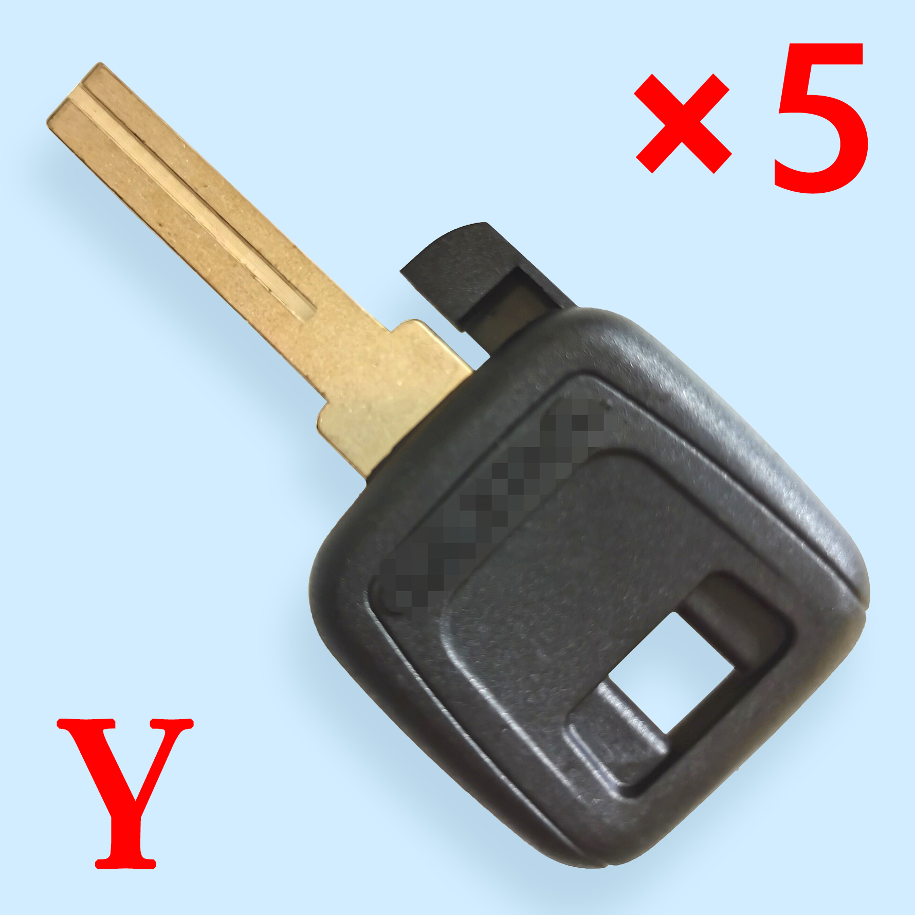 NE66 Transponder Key Shell for Volvo - Pack of 5