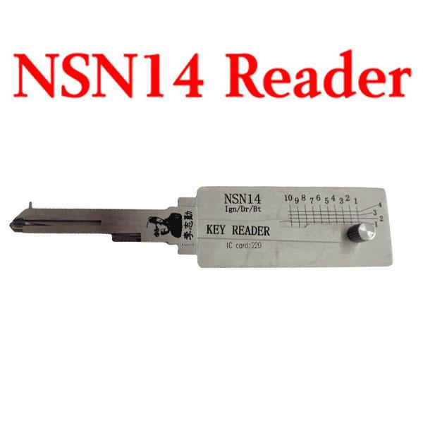 Original LISHI NSN14 Key Reader 2-in-1 Decoder and Pick Tool