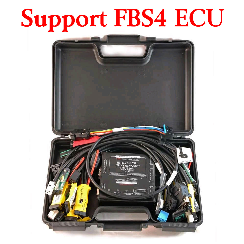 New EZS EIS ELV ESL Dash Gateway ECU IMMO Super Tester - Support FBS4 ECU Now