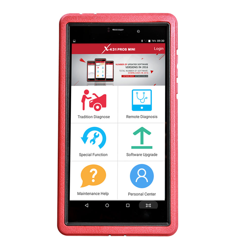 2018 Launch X431 ProS Mini - Android Based Full System Diagnostic Tablet