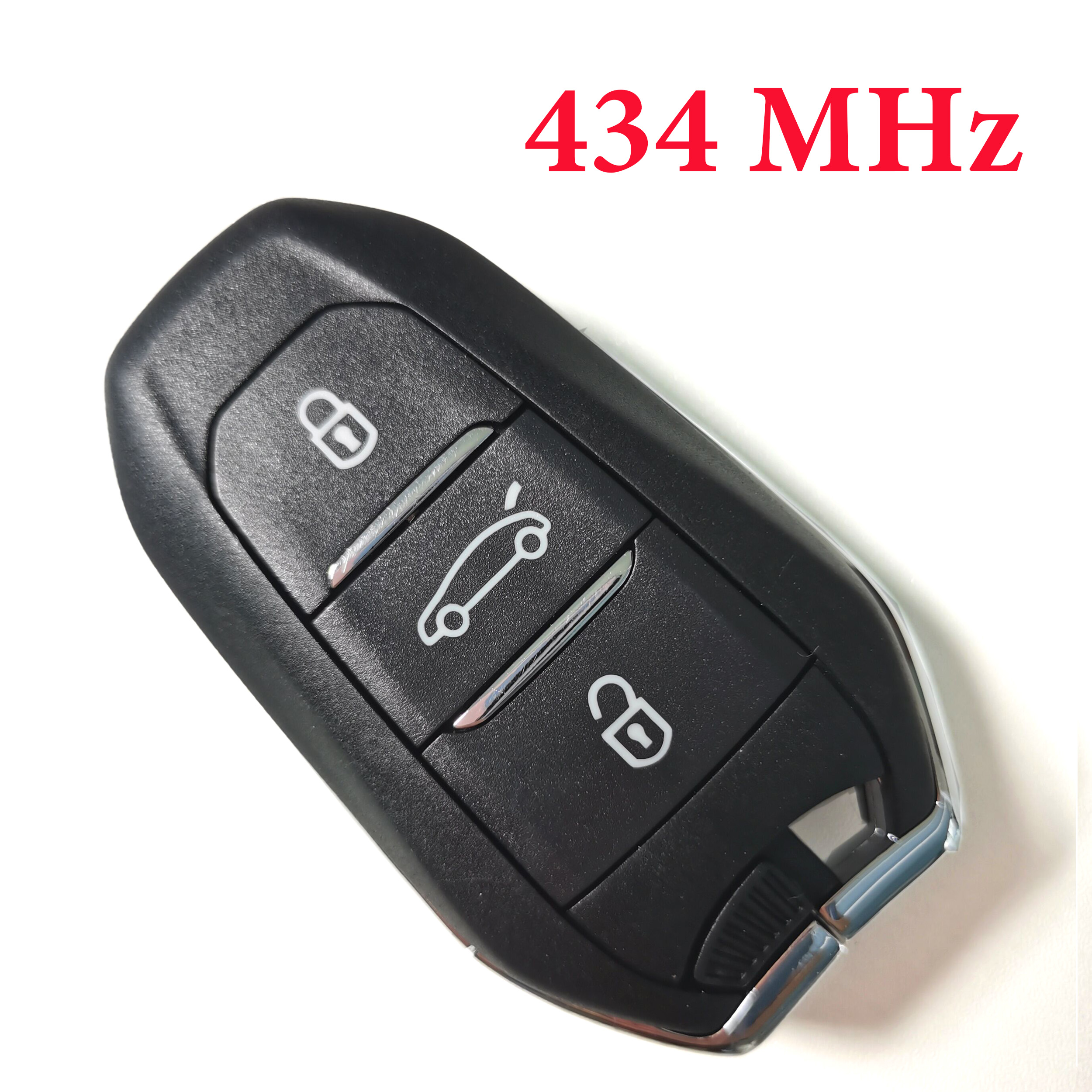 Original 3 Buttons 434 MHz  Proximity Key for Citroen With 4A Chip