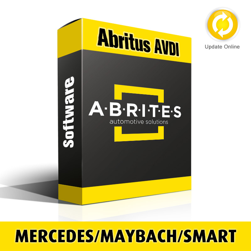 Mercedes Package MN026+ZN051+ZN036+TA14+TA15 Software for Abritus AVDI