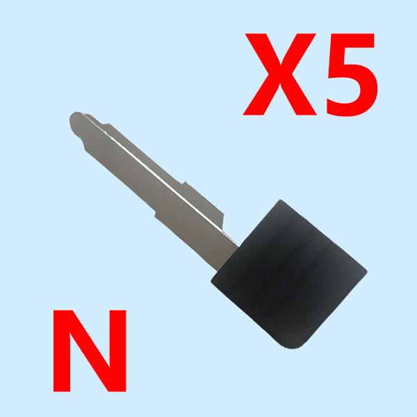 Proximity Card Emergency Key MAZ24 for Mazda M3 M5 M6 CX9 CX7 ( pack of 10 )