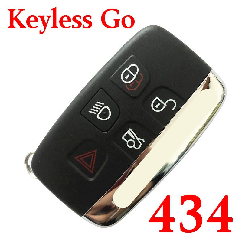 5 Buttons 434MHz Smart Proximity Key for Jaguar