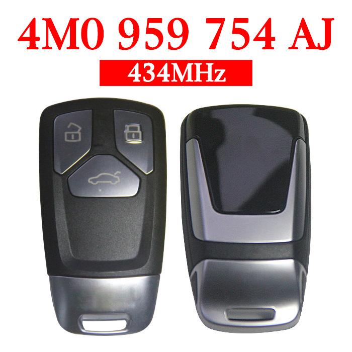 Original 434 MHz Smart Proximity Key for Audi Q7 - 4M0 959 754AJ