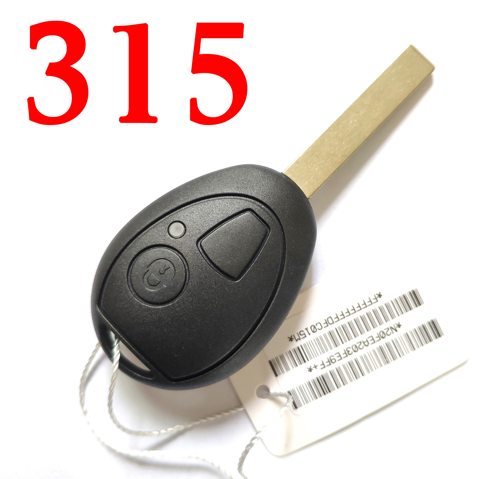 2 Buttons 315 MHz Remote key for BMW