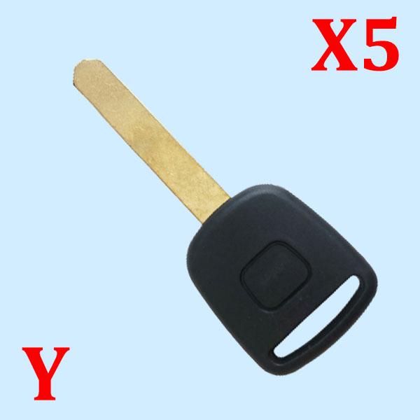 Transponder Key Shell for Honda 5 pcs