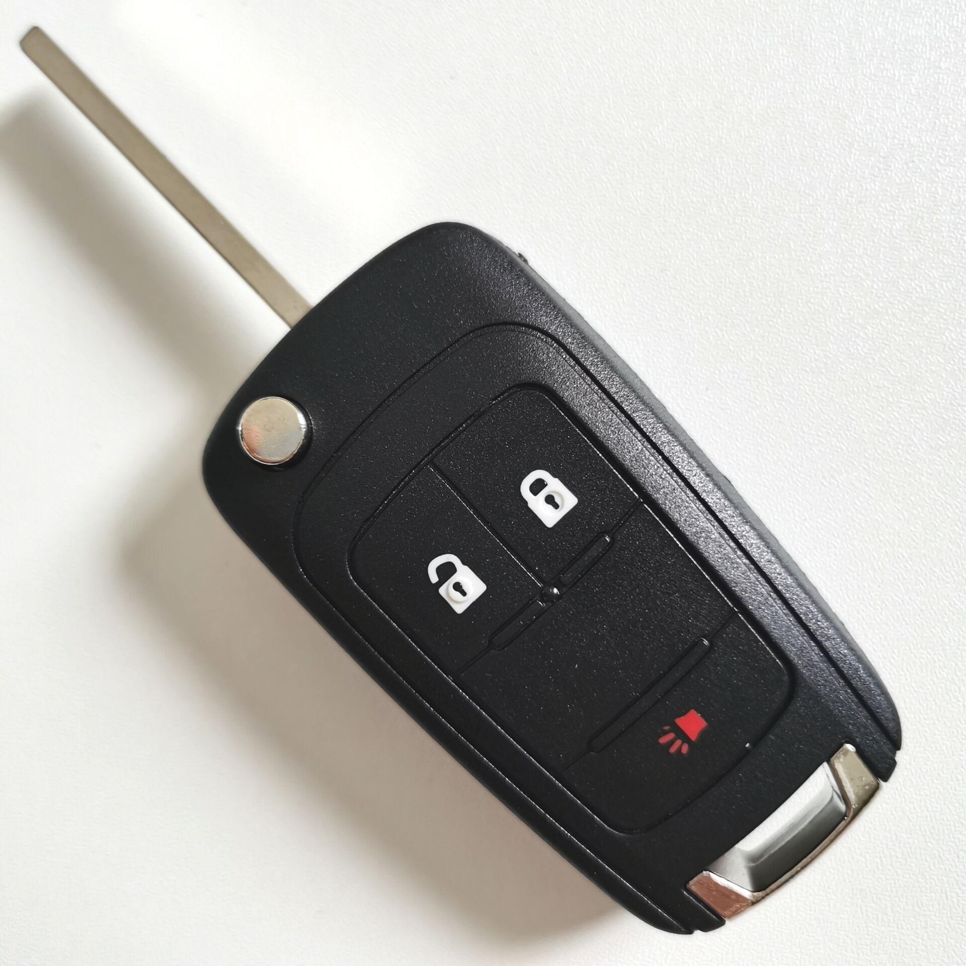 3 Button Genuine Remote Shell for Chevrolet Camaro (5pcs)