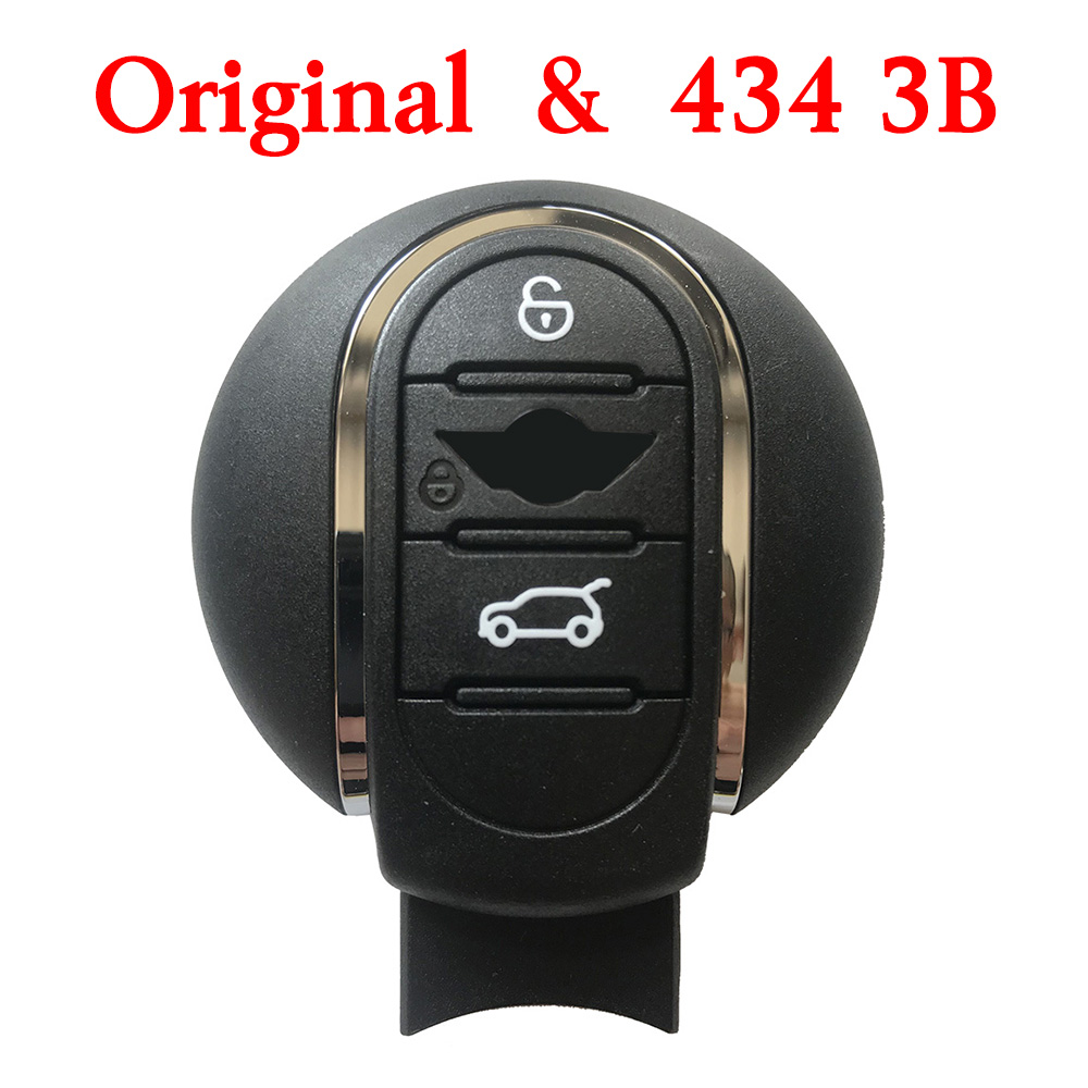 Original 3 Buttons 434 MHz BMW MINI FEM Smart Proximity Key