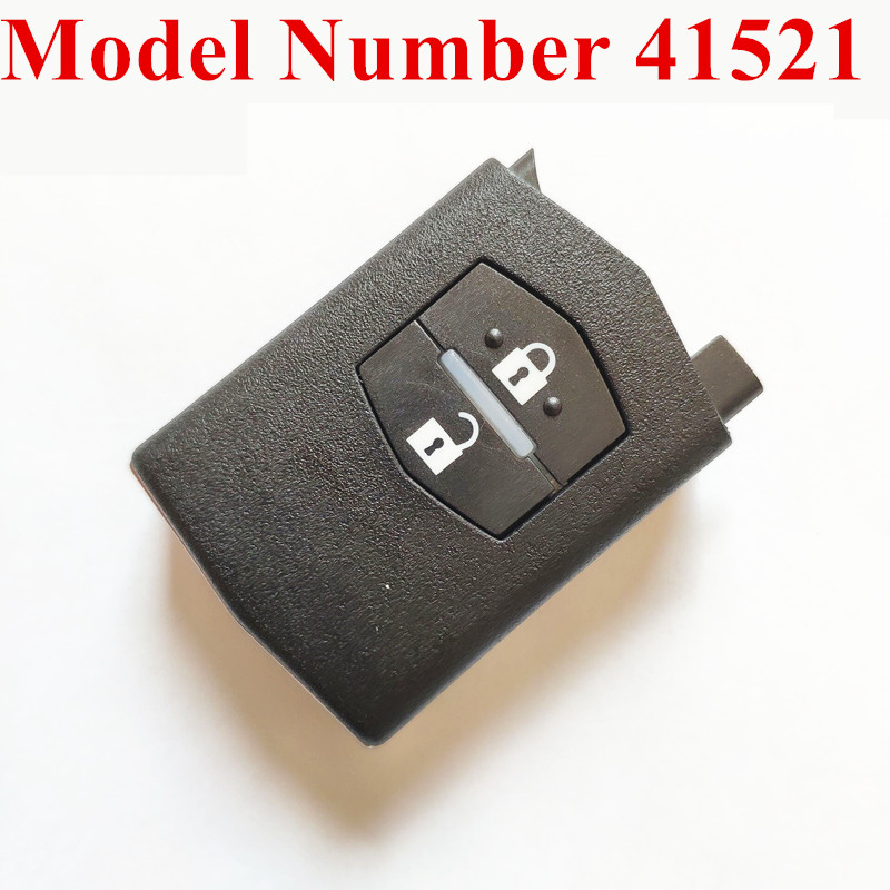 2 Buttons Car Remote Key Fit for MAZDA 41521 for M2 Demio M3 Axela M5 Premacy M6 Atenza 433MHz