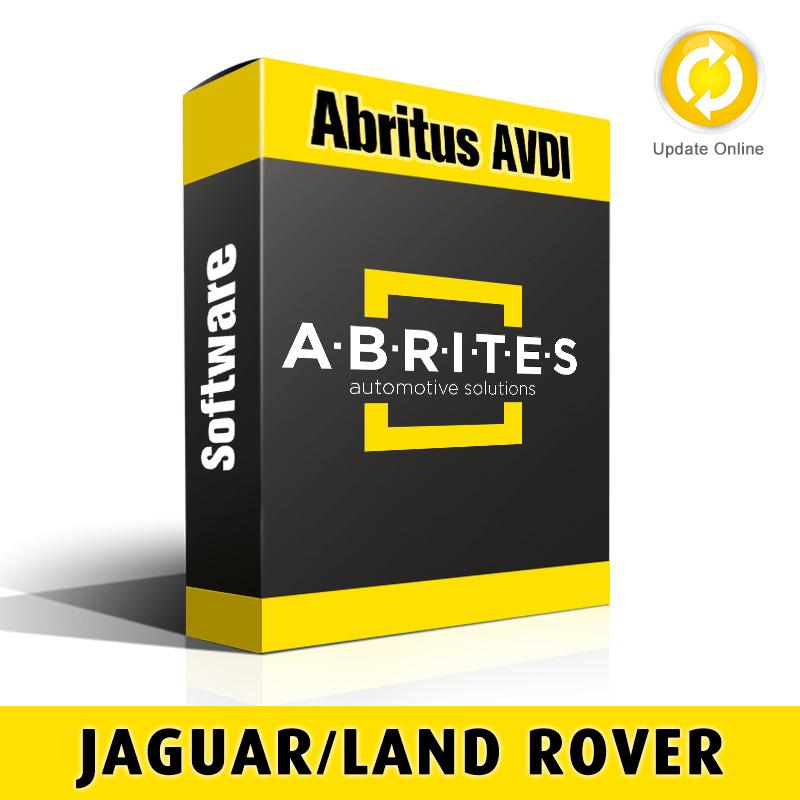 JL003 Jaguar/Land Rover Mileage Recalibration Software for Abritus AVDI