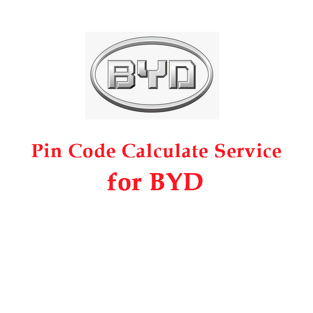 Pin Code Calculate Service for BYD