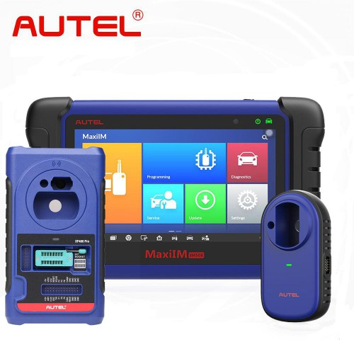 Original Autel MaxiIM IM508 Advanced IMMO & Key Programming Tool Plus XP400 Pro Key and Chip Programmer