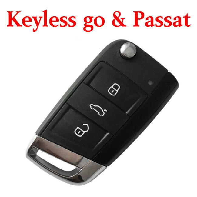 Original 3 Buttons 434 MHz Smart Proximity Key for VW Passat - 56D 959 752