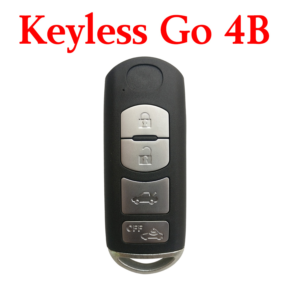 3+1 Buttons 433.92 MHz Smart Proximity Key For Mazda (VDO) - Keyless Go