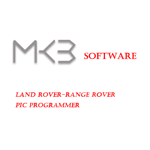 MK3 software for Land Rover-Range Rover Pic Programmer