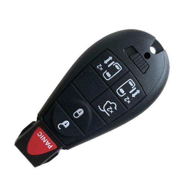 434 MHz 5+1 Buttons Remote Fobik Key for Chrysler / Dodge / VW /Jeep 2007-2017 - M3N5WY783X / IYZ-C01C