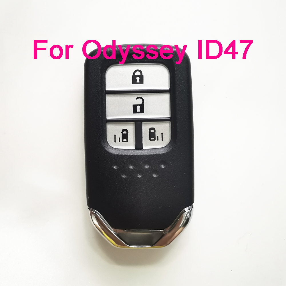 KYDZ 4 Button 433MHz FSK Keyless Go Remote For Honda Odyseey Hitag3 ID47 Chip