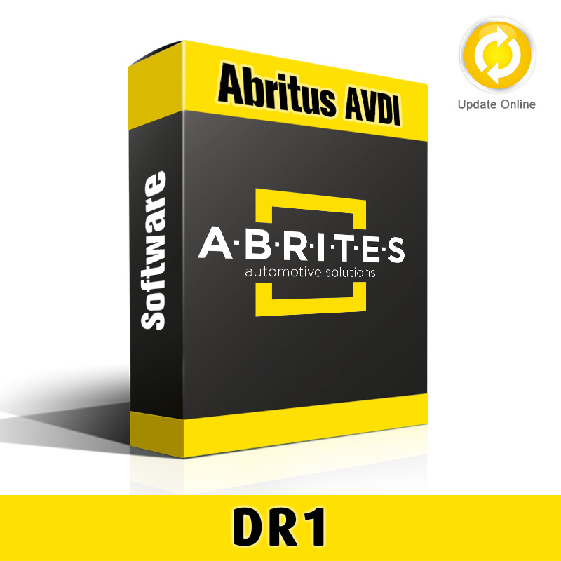 DR1-1 PassThru Driver Software for Abritus AVDI
