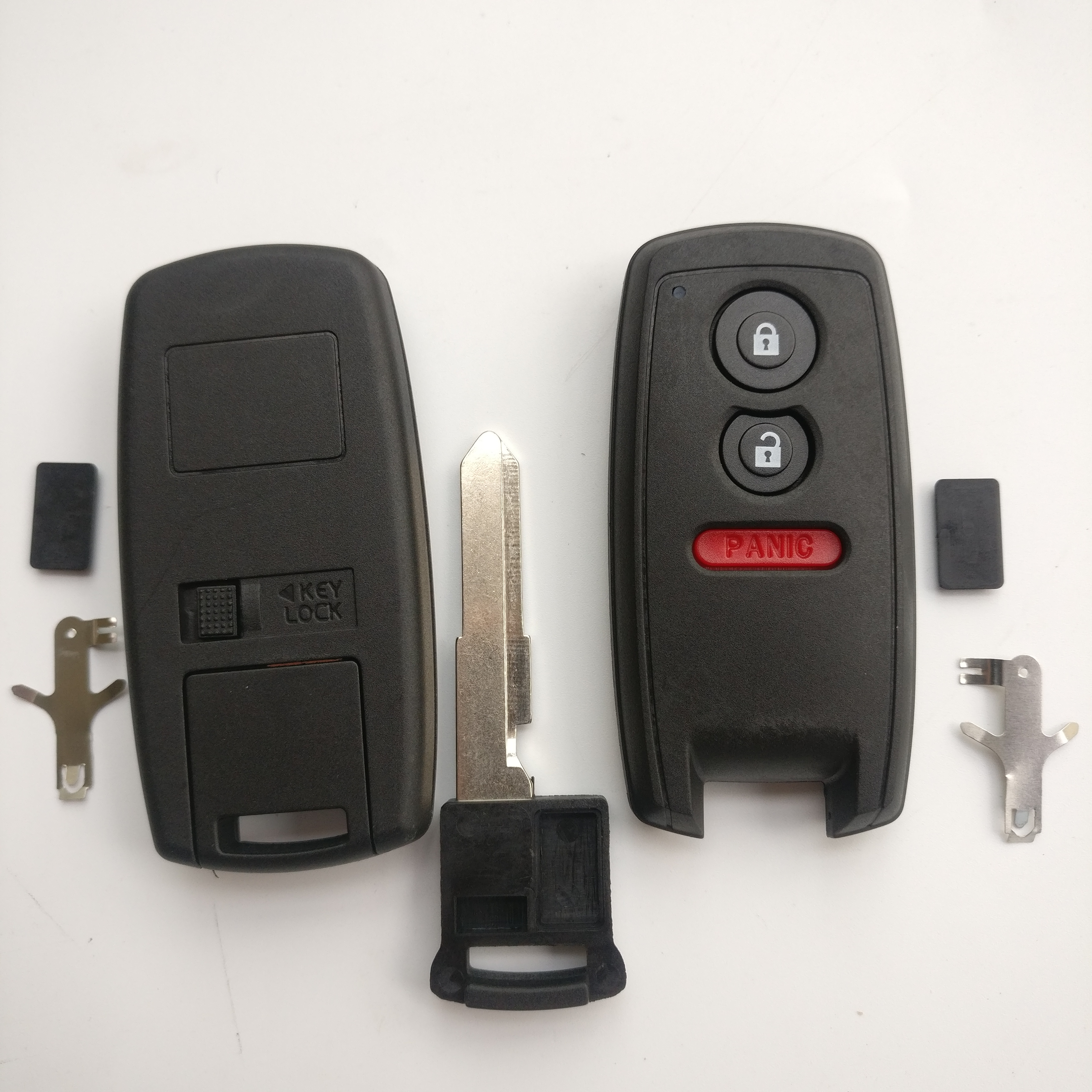 3 Buttons Smart Remote Key Shell for Suzuki - Pack of 5