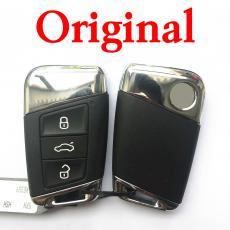 Original Full Car Lock Set with 2 Pieces Keyless Smart Key for Volkswagen Passat B8 (Typ 3G; 2015–present)