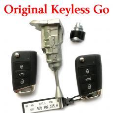 Original VW MQB Full Car Lock Set with  2 Pieces MQB Keyless Smart Key 434 MHz