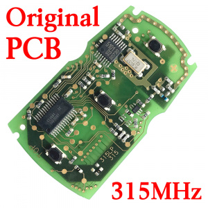3 Buttons 315 MHz Original PCB Board for BMW CAS3 Smart Key