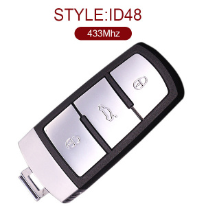 3 Buttons 434 MHz Remote Key for VW Magotan ID48