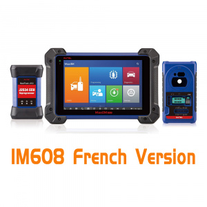Original Autel OtoSys IM608 Advanced IMMO & Key Programming & ECU Coding Scanner - French Version