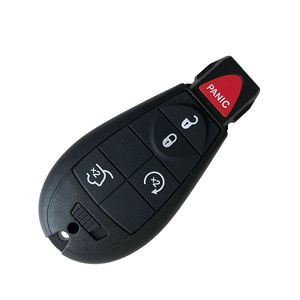 4+1 Buttons 434 MHz Remote Fobik Key for Jeep 2008-2012- M3N5WY783X