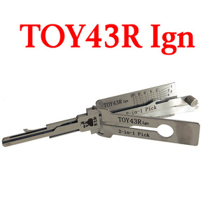 Original Lishi TOY43R Ign Decoder and Pick for Toyota