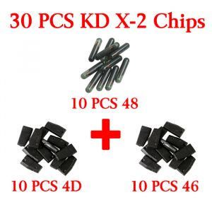 30 pcs Chips for KD X-2 - 4D 46 48 chip 10 pieces each