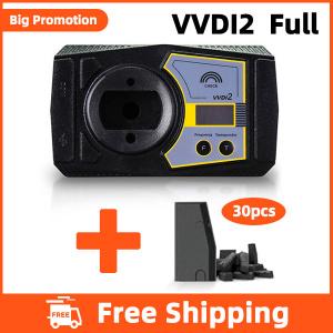 Xhorse VVDI2 Full with 30 pcs VVDI Super Chip - Free Shipping