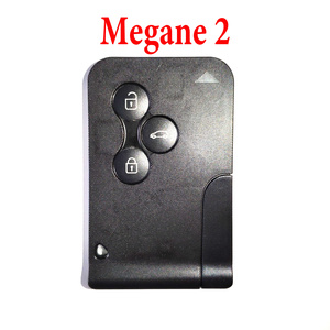 3 Buttons 434 MHz Smart Card for Renault Megane 2 - PCF7947
