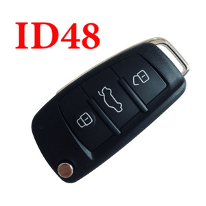 434 MHz Flip Remote Key for Audi A1 Q3 with 48 Chip Onboard  - 8X0 837 220