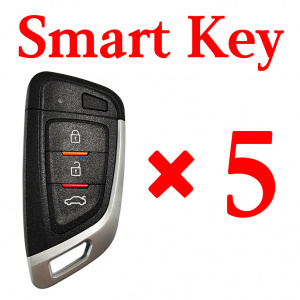 Xhorse VVDI Universal Smart Key with Proximity - XSKF01EN - Pack of 5